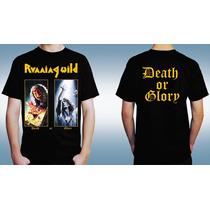 Polera Heavy Power Metal Running Wild Stratovarius Rhapsody