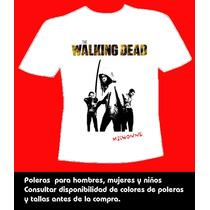 Poleras The Walking Dead