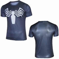 Polera De Compresion Venom Batman Thor Ultron Superman Quick