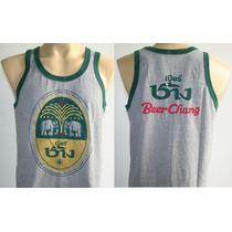 Polera Camiseta Tank Musculosa Cerveza Beer Chang Tailandia
