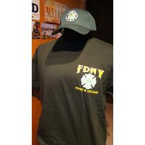 Poleras Bomberos New York Fdny Exclusivas