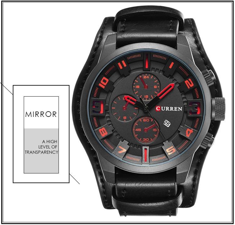317218e0085b hombre pulsera reloj · reloj hombre pulsera cuero lujo militar envío gratis  20 días