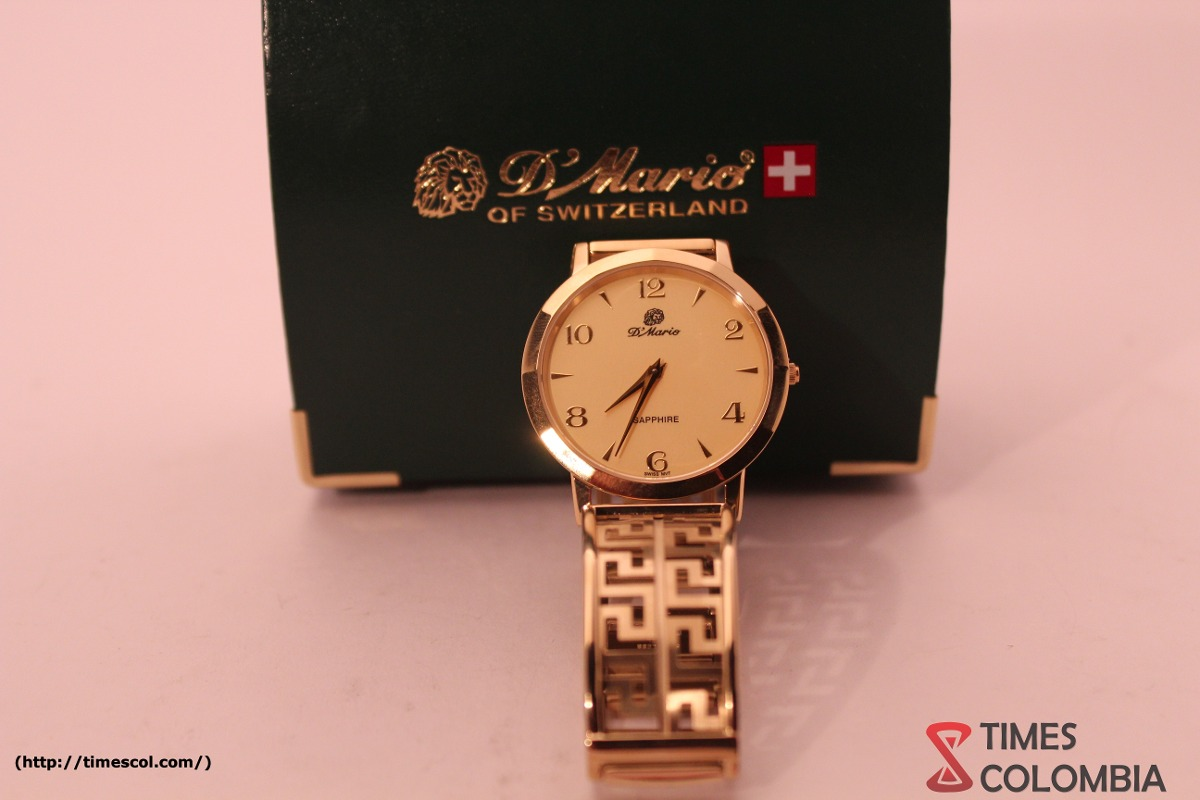 Reloj D'mario Hombre Pulso Esqueleto Zafirado Elegante Origi ... 84e4e1866659