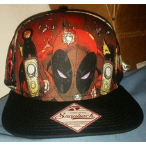 Deadpool Snapback Gorra Nuevo Original 100%