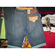 Pantalon Corto Levis Fashion Tallas 30 Al 40
