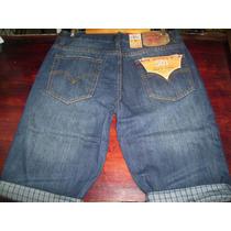 Pantalon Corto De Caballero Levis Casual Tallas 38 Y 40