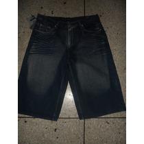 Short/ Bermuda De Jeans De Caballero 30,32,34,