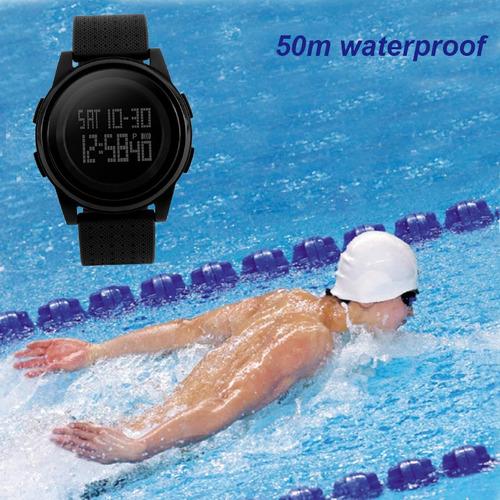 aad52c3a852e Hombre Simple Reloj Negro Jóvenes Skmei Deportivo Digital -   361.78 ...
