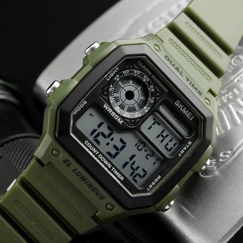 1e9191fa079b Cargando zoom... reloj hombre skmei 1299 maquina japonesa tendencia.  Cargando zoom.