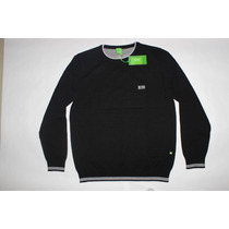 Sweater Hugo Boss Caballero Miami Usa Original Manga Larga