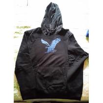 Sweter American Eagle Negro Talla Xl Original