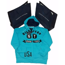 Chaquetas Hoodies Sweaters Tommy Hilfiger Caballeros Y Niños