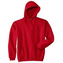 Sweter Capucha Unicolor Especial Para Estampar