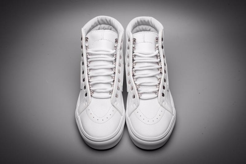 Cargando zoom... zapatillas hombre mujer vans clasica caña blancas  sneakerbox 959cac0ec05