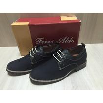 Zapatos Ferro Aldo 100% Originales Casual Vestir Negros 2015