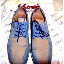 Zapatos Rossi Piel De Nubuck Talla 40