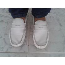 Zapatos Mocasino Outdoors Blancos Caballero Talla 40