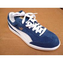 Zapato Puma Deportivo Para Caballero (azul - Blanco)