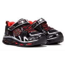 Zapatos Skechers Star Wars Niños, Nuevos Y Originales !!!