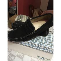 Zapatos Marca Pazzos Mocasines Talla 9
