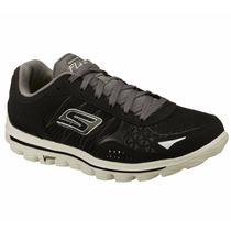 Skechers Gowalk 2 Flash Walking Para Hombres -53960-bkgy