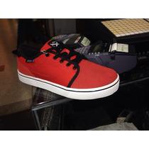 Zapatos Skate Oklesh Rojo... Etnies, Emerica, Supra, Vans.