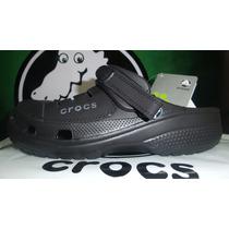 Sandalias Cholas Crocs Yukon Originales De Cuero Men