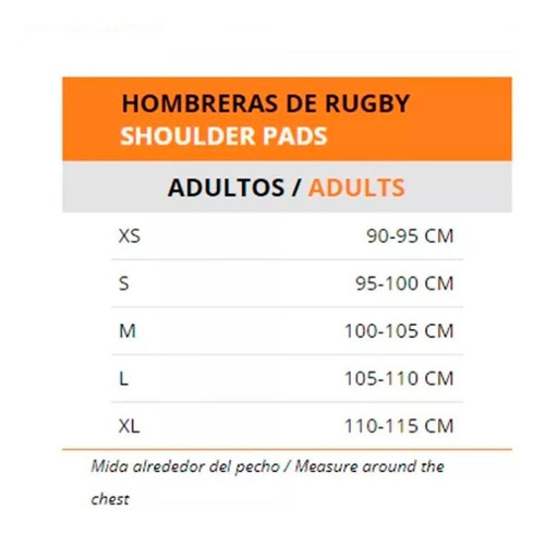 hombrera de rugby flash - impactor 720 - protecciones