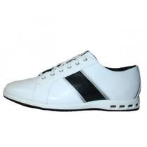 Calzado Hombre Adidas Sneacker Blancas 100% Original Amazing