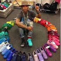 Zapatillas Adidas Superstar Pharell Original Stock Inmediato