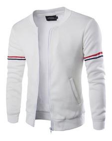 Tienda online en venta salida para la venta Hombres ' Casual Chaqueta Collar De Moda De La Cremallera