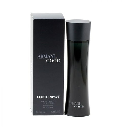 hombres de armani negro código de giorgio armani, edt