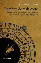 hombres de mala corte(libro historia de la edad media y mode