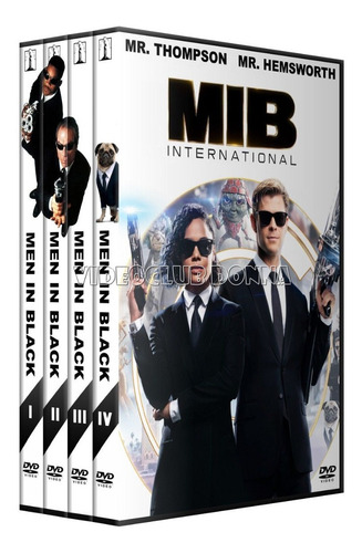 hombres de negro men in black saga completa dvd latino pack