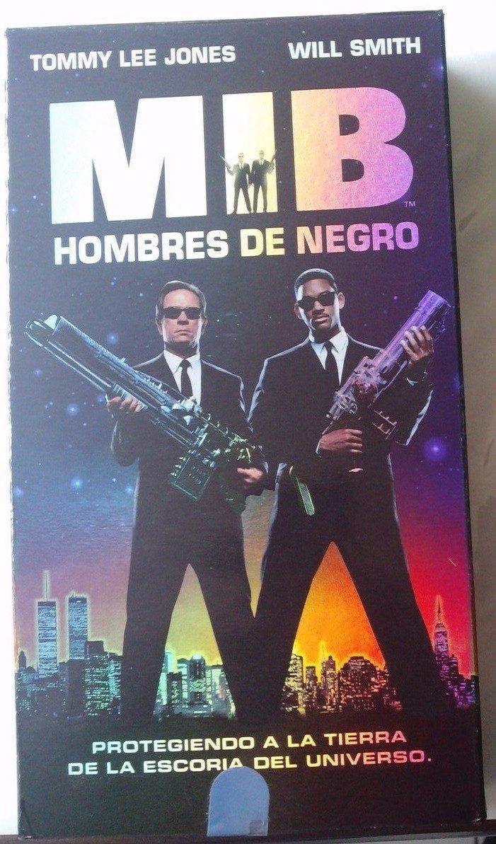 Hombres De Negro Mib Will Smith Pelicula Vhs 1997 Bvf 80 00 En Mercado Libre