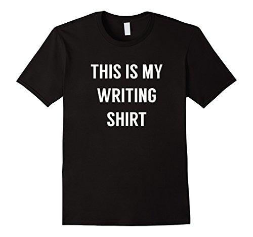 aab04fc5ed86f Hombres Esta Es Mi Camisa De Escritura - Camiseta Para Escri ...