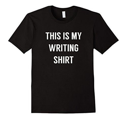 27c59e017b820 Hombres Esta Es Mi Camisa De Escritura - Camiseta Para Escri ...