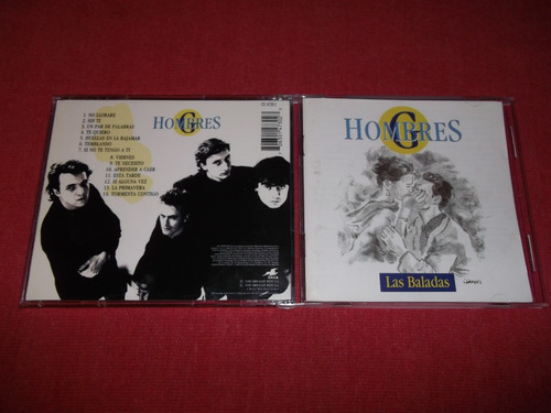 hombres g - las baladas cd nac ed 1996 mdisk