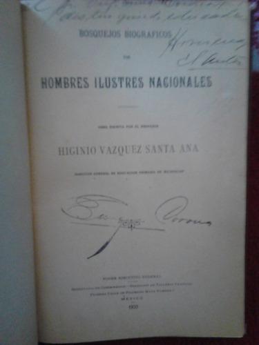 hombres ilustres nacionales, higinio vazquez santa ana