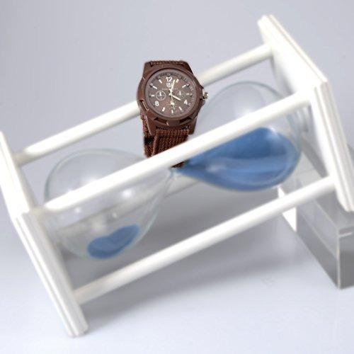hombres joylivecy ronda sport dial reloj de pulsera luminos