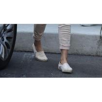Alpargatas Verano Color Ivory Zapatillas Blancas