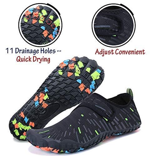 hombres mujeres deportes acuaticos zapatos slip-on quick dry