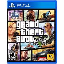 Grand Theft Auto V - Playstation 4--solo En Kiero1