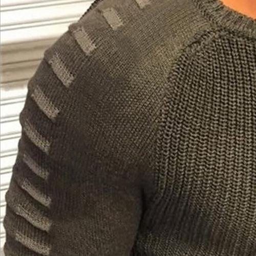 hombres 's sólido delgado fit luz peso tejer con capucha su
