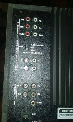 home 5.1 control remoto