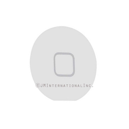home button plastic blanco  replacement part para ipad 2