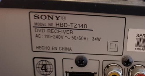 home cinema sony cine en casa 5.1  dav-tz140  dolby tv dvd