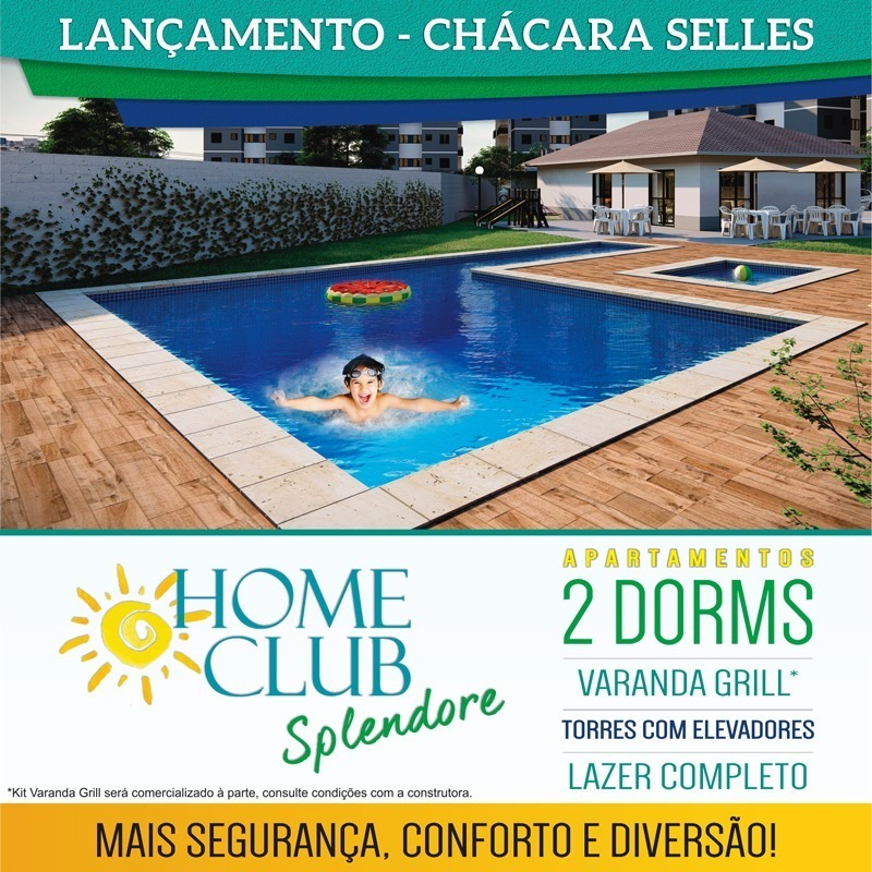 home club splendore, apartamentos com 2 dormitórios.