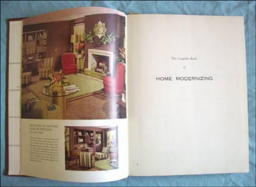 home modernizing _ modernizacion de hogares, tapa dura, 1953