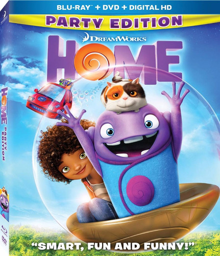 home party pelicula en blu-ray + dvd + dig hd